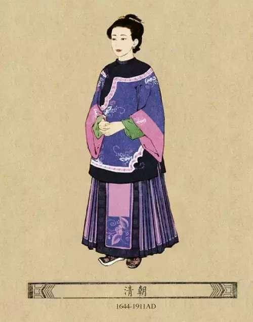 中国古代女子服饰变化,真好看图片
