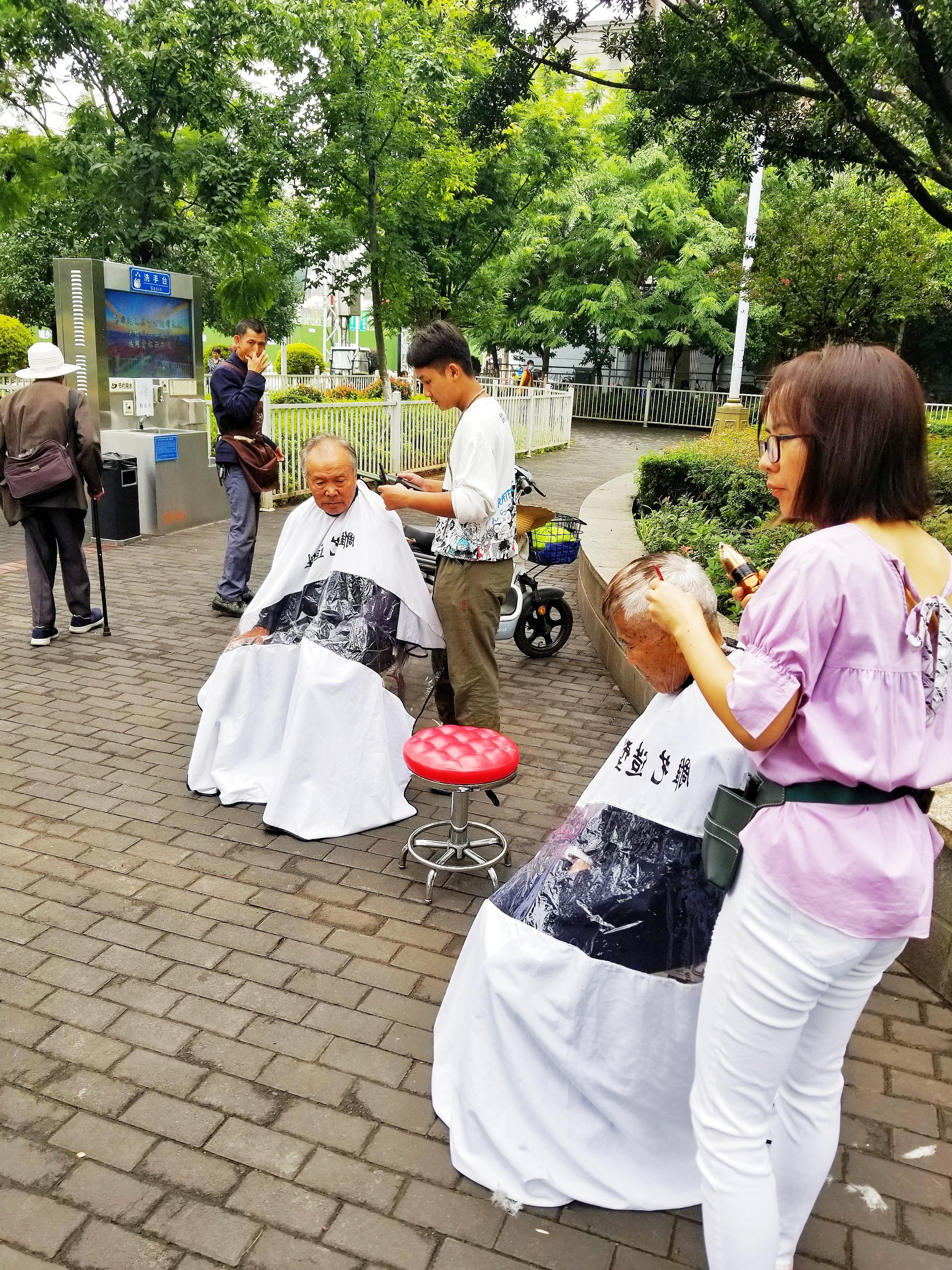 爱心公益免费剪头发
